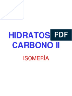 Hidratos de Carbono II
