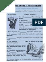 Irregular Verbs Past Simple IV2 (Januar 2013.)