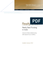 Realty Debt Funding in India