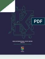 Keele University Keele ISC Summary Prospectus 2013-14 LR