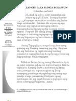 Prayer for Vocations Tagalog & English