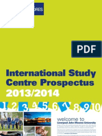 LJMU ISC 2013-14 Summary Prospectus