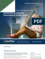 Leicester ISC Summary Prospectus 2013-14 LR