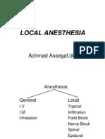 Anestesi Regional