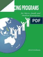 2010 Financing Programs