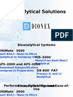 Bioanalytical Solutions - Dionex