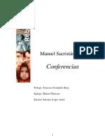 SACRISTÁN LUZÓN, Manuel. Conferências