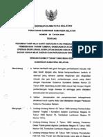 Peraturan Gubernur No. 25 Tahun 2009