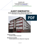 Energy Audit Targoviste Special School