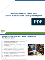 teacher evaluation and development policy presentation