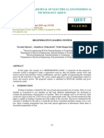 Regenerative Loading System-2