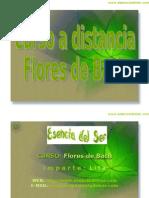 Curso a Distancia de Flores de Bach
