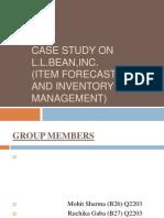Case Study on l.l.bean