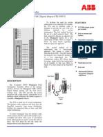 ABB ICSTT-SDS-8870 - En Plantguard 40 Channel 120 VDC Digital Output FTA P8870