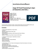 Modern Technology of Food Processing &Amp; Agro Based Industries (2nd Edn.)