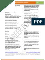 Previous Year Paper-General Awareness -IBPS Exam-2012