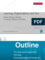 Learning Organizations and You (166251448)