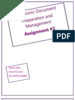 Proposal - EDPM New