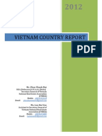 Vietnam Country Report, 2012