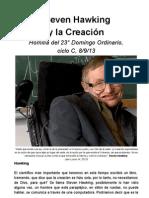 Steven Hawking y la Creación