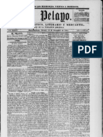 El Pelayo 1851 [Spanish language Newspaper in New Orleans]