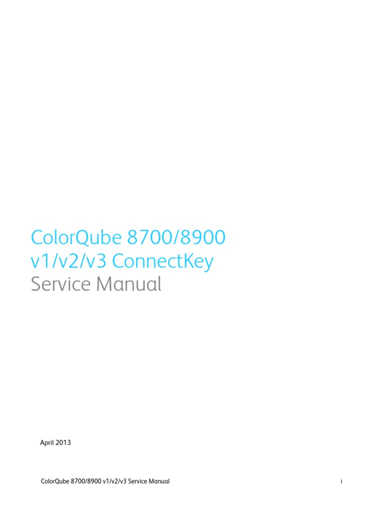 Xerox ColorQube 8700 Service Manual | Technical Support | Electrostatic  Discharge