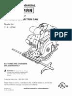 C3 Laser Trim Saw Craftsman