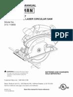 Craftsman C3 Laser Saw Users Guide