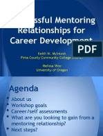 Successful Mentoring Relationships for Career Development (166256942)