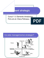 Management Strategic Curs