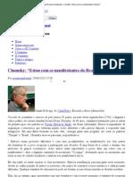 CHOMSKY - Entrevista