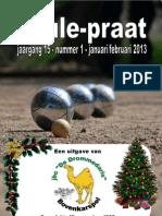 Clubblad Januari 2013