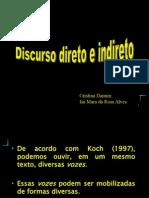 Citacao - Discurso Direto e Indireto