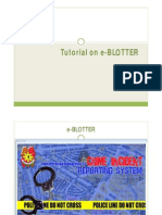 Tutoriale e Blotter
