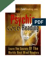 Handbook of Psychic Cold Reading Final - Dantalion jones