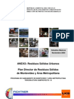 05b-Plan Director de Residuos Sólidos de Montevideo y Area Metropolitana - Anexo RSU - Nov. 2004