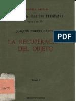 Torres García, Joaquín - La recuperación del objeto I