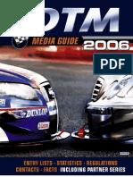 DTM Media Guide 2006 Englisch