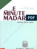 One Minute Madarsa