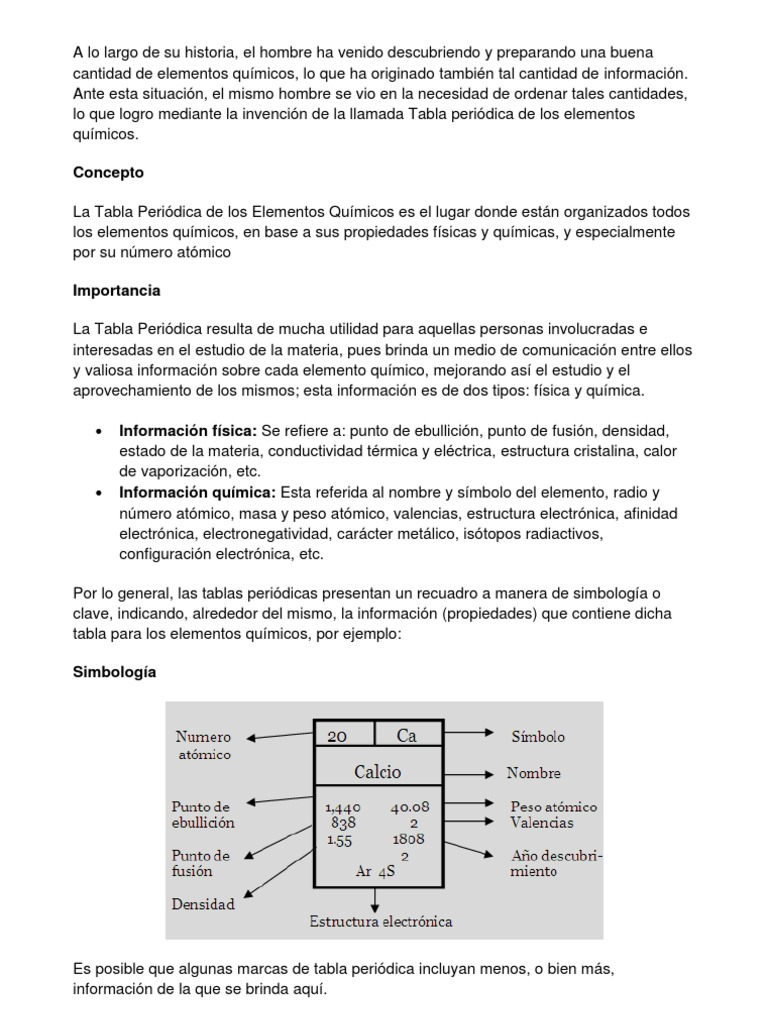 Concepto tabla peridica urtaz Choice Image