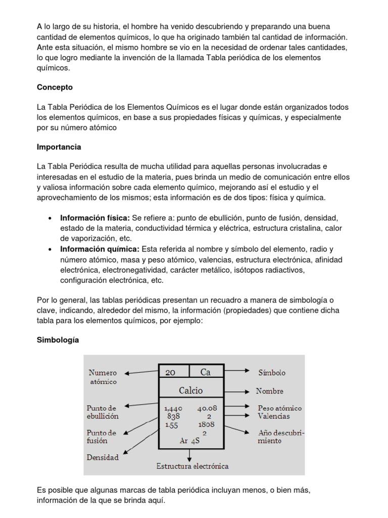 Calcio tabla periodica definicion choice image periodic table and tabla periodica de los elementos quimicos y sus definiciones choice tabla periodica de elementos quimicos definicion urtaz Images