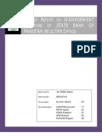 State Bank Pakistan - Multan [Report]