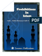 prohibitions in islam