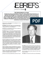 The Pathogenesis of Acne