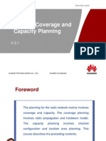 GSM Radio Coverage & Capacity Planning