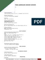 Administrasi Jaringan Debian Server