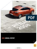 Renault - 2008 Interactive Annual Report