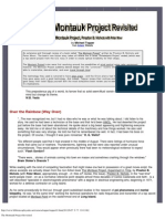 The Montauk Project Revisited