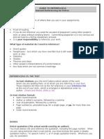 Petroc Harvard Referencing Guide