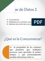BASE DE DATOS CONCURRENCIA